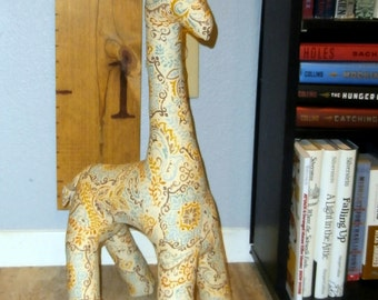 Stuffed Giraffe Animal Pattern