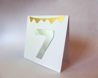 Table numbers,Gold table number, Wedding table numbers, Seat numbers, Bunting table number