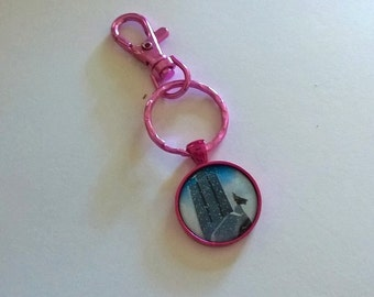 Pink YA Backpack Clip