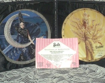 Enesco Bob Mackie Barbie Plates