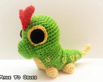 Crochet Caterpie Inspired Pokemon