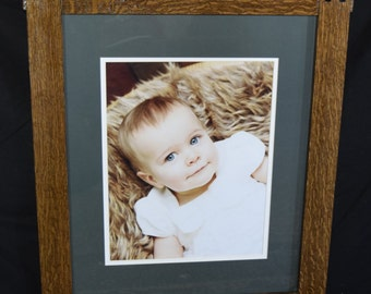 Craftsman Style Picture Frame - Custom Sized