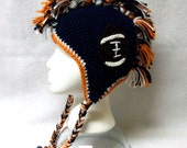 denver broncos hat,mohawk hat,hats and caps,team sports,mens accessories,football helmet,sports helmets,toys and games,handmade75,items,hats