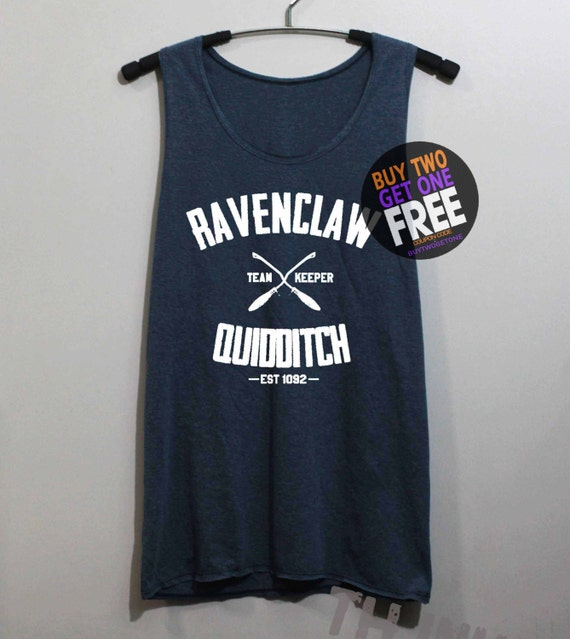 Ravenclaw Quidditch Shirt Harry Potter Shirts by ...
