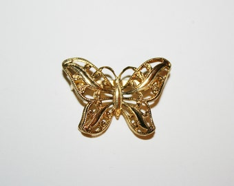 Napier Butterfly Brooch / Pin 1.25 inches |