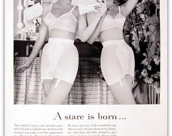 Vintage underwear ad | Etsy
