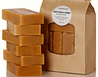 Goats Milk & Honey Value Bag (6 bars)