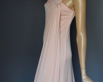 Peachy John Marks by Anne Tyrell Vintage Strappy Grecian Goddess Dress