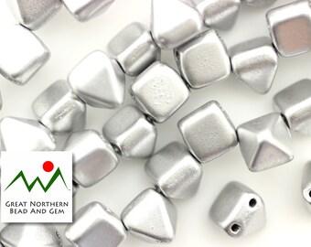 Czech Pyramid Beads,25 Piece Strand,6MM,Czech Glass Beads,Czech Glass,Czech Beads,CZE010240