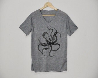 OCTOPUS Shirt Tshirt T-shirt Top Size S M L