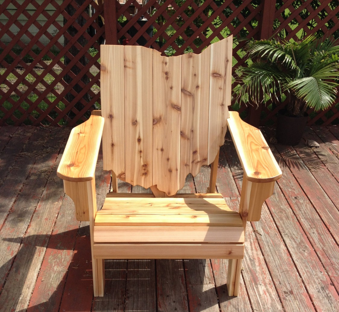 handmade adirondack chairs ohio adirondack chair handmade wood furniture rustic cedar 9704
