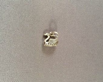 Swan .925 Sterling Silver Charm