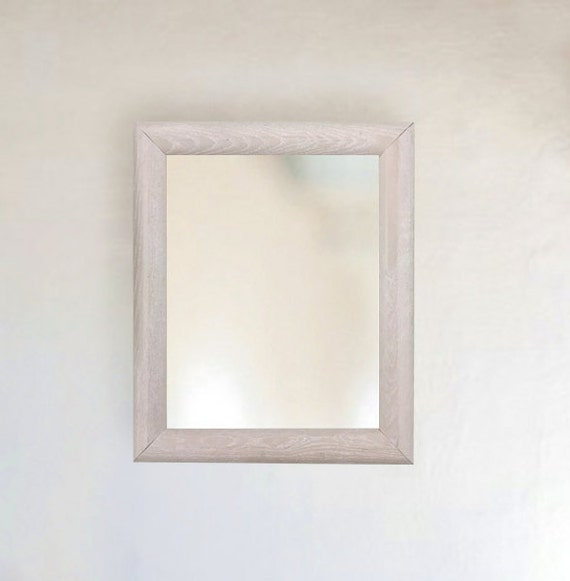 ... Wash Ash Wood Framed Mirror inside Size 8x10 11x14 16x20 24x26 on Etsy