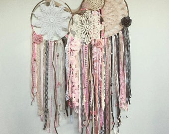 Doily Dreamcatchers - made to order