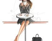 Lady Latte (Print)