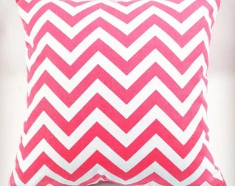 Chevron Cover | Candy Pink
