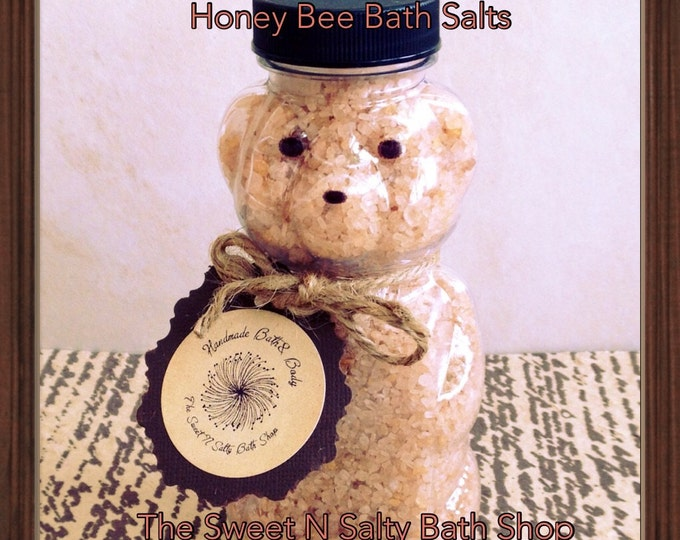 Honey Bee Bath Salts