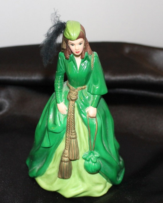 Gone with the Wind Scarlett O'Hara in Curtain Dress - Bell by Enesco