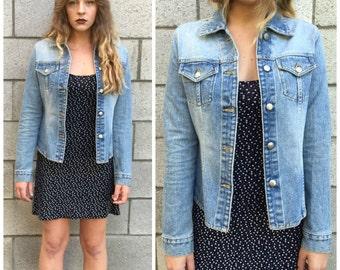 Vintage 90s Denim Darling Jacket