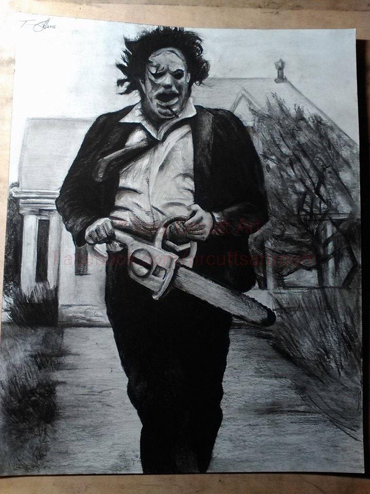 Print 11x17'' Texas Chainsaw Massacre Leatherface