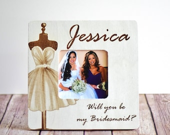 Will You Be My Bridesmaid Frame, Will you be my Maid of Honor Frame, Maid of Honor Gift, Bridesmaid Gift, Maid of Honor Gift, Bridesmaids
