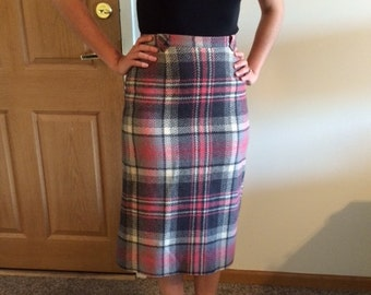 1960s Pendleton Pencil Skirt