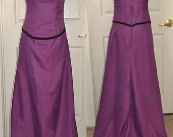 Small Purple Edwardian Ball Gown - Ready to Ship