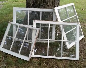 Reduced Vintage Windows/ Old Windows