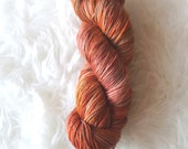 chai tea - superwash merino yarn - worsted weight