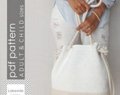 The Bryce Crochet Bag PATTERN (includes Adult & Child size)