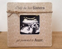 Pregnancy reveal to Aunt- Promoted to aunt frame