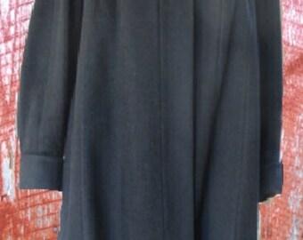 VINTAGE BETTIJEAN ALPACA Contina Women's Overcoat   1950s