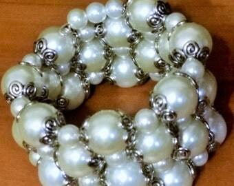 Bridal Ivory Wrap Bracelet
