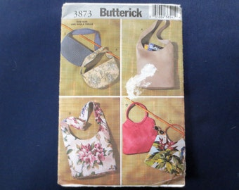 Handbags & Purses – Sling and Hobo – Uncut Pattern, Butterick 3873