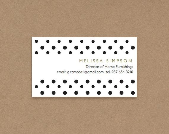 DIY Business Card Template Printable And Editable 3.5x2 Name