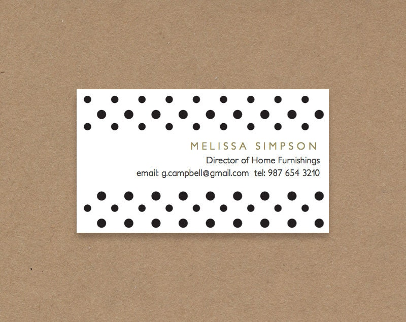 diy business card template printable and editable by. Black Bedroom Furniture Sets. Home Design Ideas