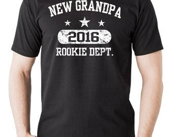 Gift For Grandfather T-Shirt New Grandpa 2016 Tee Shirt