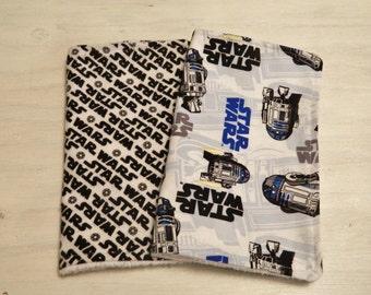 Burp Cloth 2 Pack- Star Wars- R2D2