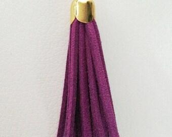 Individual tassel for tassel necklace