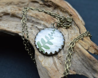 Fern forest pendant