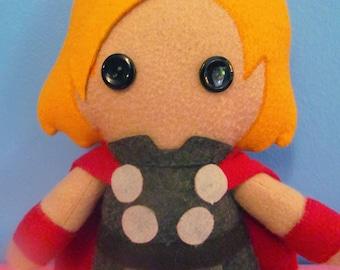 Marvel Thor Fleece Plush Doll
