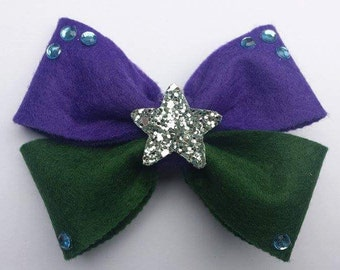 Disney, The Little Mermaid, Ariel Inspired Hair Bow