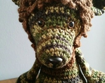 Crocheted Lion Amigurumi