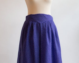 Vintage Skirt // Blue