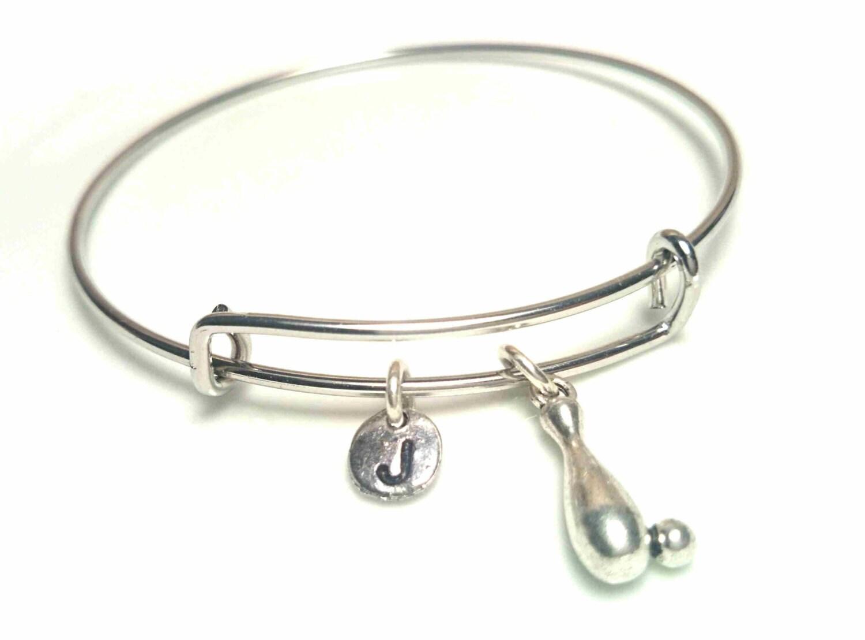 bowling bangle bracelet adjustable expandable bangle