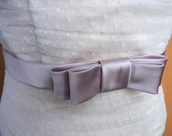 bridal belt satin bow