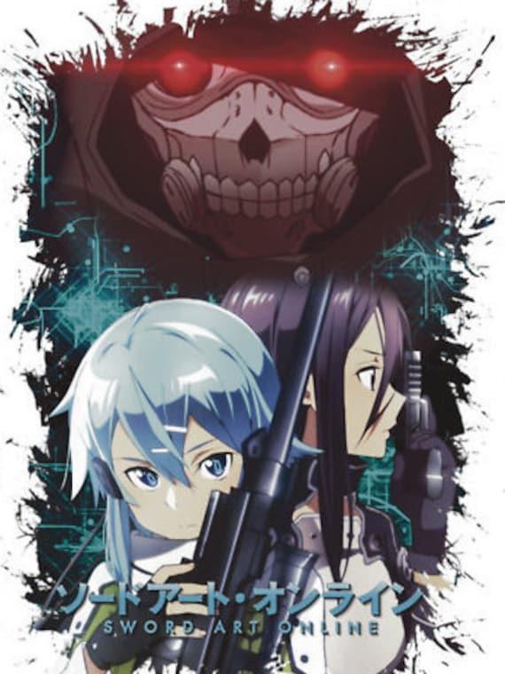 Sword Art Online Decal Sticker By Animezx On Etsy