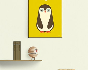 Penguin mustard yellow A3