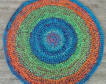 Purl Nine round floor rug
