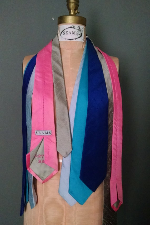 Silk Neckties - Made to Order - Custom Color and Mongogram